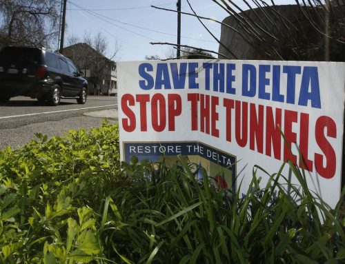 A Washington bomb set to go off in California's delta tunnels water war